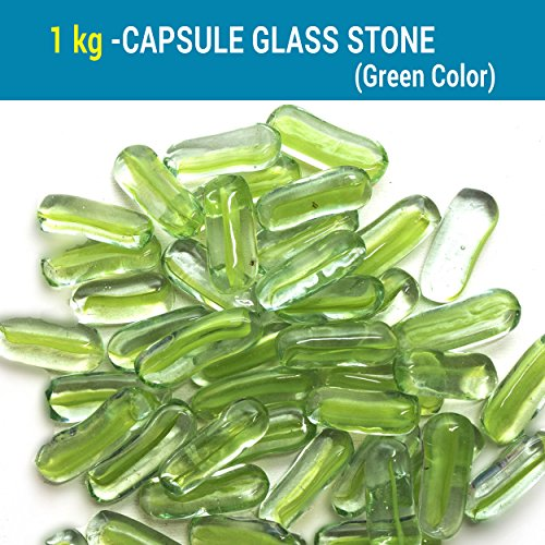 Tied Ribbons Glass Pebbles For Decorative Vase Filler Aquarium Craft
