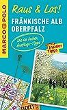 MARCO POLO Raus & Los! Fränkische Alb, Oberpfalz: Das Package für unterwegs: Der Erlebnisführer mit großer Erlebniskarte -
