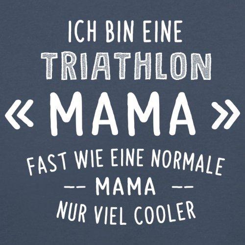 Ich bin eine Triathlon Mama - Herren T-Shirt - 13 Farben Navy