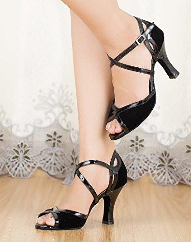 TDA - Strap alla caviglia donna 8cm Heel Black