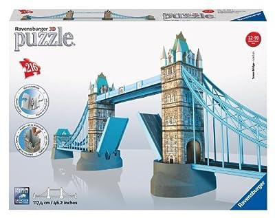 Ravensburger - Puzzle 3D, diseño Tower Bridge (12559 3) de Ravensburger
