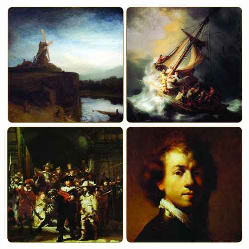 coasterstone-as9946-rembrandt-collection-absorbent-coasters-4-1-4-inch-set-of-4