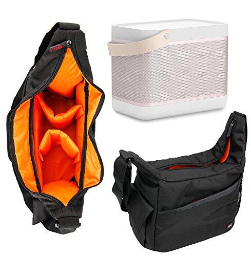DURAGADGET Bolsa / Mochila Para B&O PLAY Beolit 15 - Con Bandolera + Compartimentos - Calidad 100%