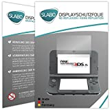 2 x Slabo Displayschutzfolie New Nintendo 3DS XL Displayschutz Schutzfolie Folie 'No Reflexion|Keine Reflektion' MATT - Entspiegelnd MADE IN GERMANY