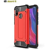 Funda Xiaomi Mi 8,MYLBOO [Hybrid Armor] Estuche desmontable 2 en 1 para