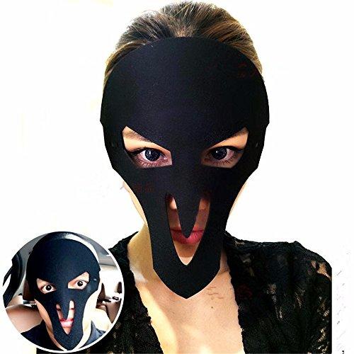 Maskerade Maske Halloween Weihnachten und Kostüm Party Maske Partei Tanzmaske männliche und weibliche Maske, L