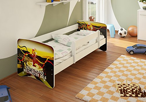 Best For Kids Kinderbett Jugendbett 80x180 mit Rausfallschutz 44 Design