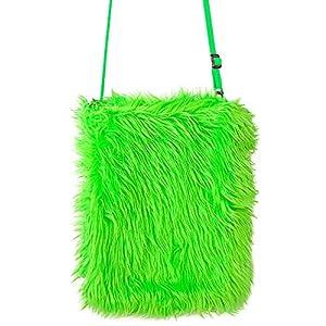 WIDMANN 09819 - Bolso de mano para mujer, color verde neón, talla única