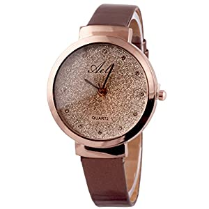 Aelo Analog Rose Gold Dial Girls Watch - Www1026