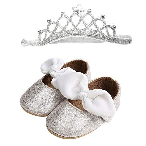 Linlink Sandalen Babyschuhe Sommer Sandale mit Weichen Sterne Krippe Schuhe Baby Leder Lauflernschuhe Junge Mädchen Kleinkind 0-6 Monate 6-12 Monate 12-18 Monate