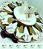 bomboniere Farfalle in Ceramica a calamita con Farfalla Albero della Vita Gay Mattiolo - Torta 20 fette con Confetti APR