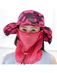 Hyun times Sunscreen girl summer outdoors travel alpinisme pêcheur sun cycling sun hat