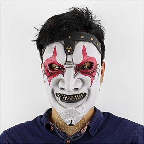 SQCOOL Zipper Mund Maske Halloween Horror Scary Haunted Haus Layout Spoofs Make-up Tanz Requisiten (Schwarze Katzen-kostüm Diy)