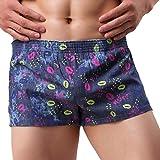 Fulltime® Herren Unterhosen,Mens Printing Cozy Unterwäsche Briefs Shorts Sport Baumwolle Briefs Höschen Ausbuchtung Pouch Soft Unterhose