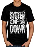 Offiziell System of A Down Distressed Logo T-Shirt