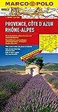 MARCO POLO Karte Provence, Cote d Azur, Phone-Alpes (MARCO POLO Karten 1:300000)