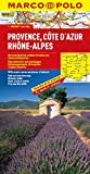 MARCO POLO Karte Provence, Cote d Azur, Phone-Alpes (MARCO POLO Karten 1:300 - 000) - Polo Marco