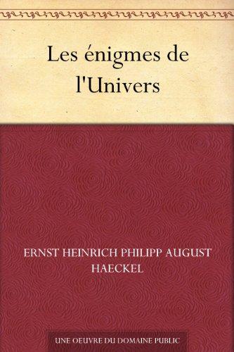 Les nigmes de l'Univers