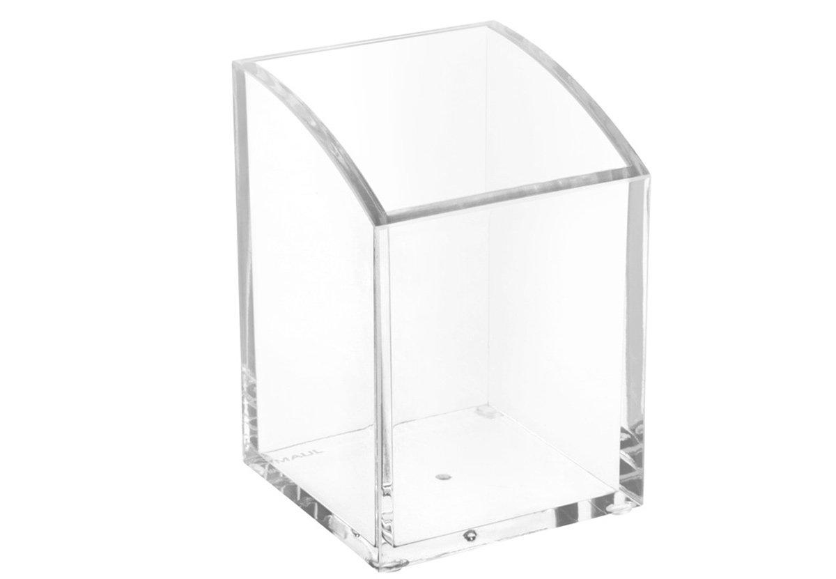 Maul portapenne acrilico trasparente