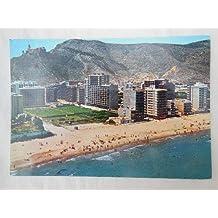 Antigua Postal Fotográfica - Old Postcard Photography : CULLERA. Playa