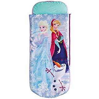 La Reine des Neiges - Lit junior ReadyBed - lit d'appoint pour enfants avec couette intégrée