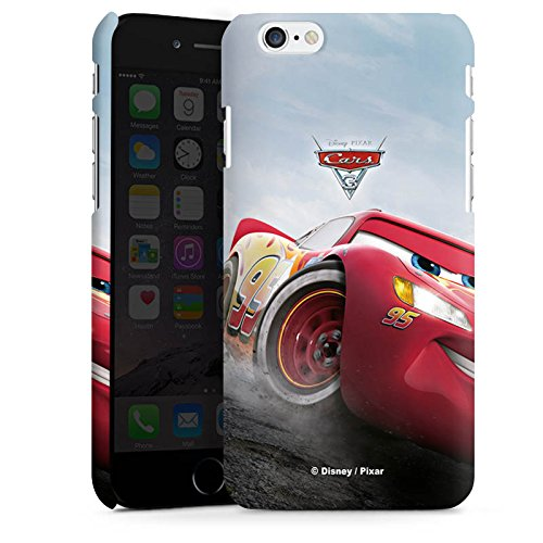 Apple iPhone 5s Silikon Hülle Case Schutzhülle Lightning McQueen Cars 3 Disney Cars Premium Case matt