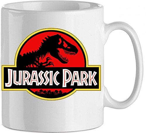 Taza Jurassic Park Gadget Cartoons oggettistica Mug Idea regalo Dinosaurios
