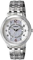 (CERTIFIED REFURBISHED) Aspen Workwear Analog Silver Dial Mens Watch - AM0044