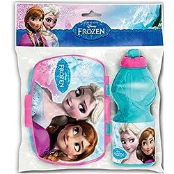 Set bottiglia sport e Bistecchiera Rettangolare di Frozen, 0/12)