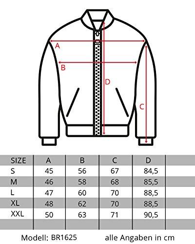 Burocs Herren Parka Winter-Jacke Kunst-Fell Imitat Kapuze Schwarz Khaki BR1625, Größe:XXL, Farbe:Khaki - 7
