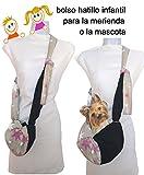 Tasche für hunde. Kleintiere. und Mädchen. Schwarz und Sterne. kleine Hunderassen kleine Hunderassen bis zu 3 Kgr. verstellbarer Schultergurt. Handmade . Reinigbarer.