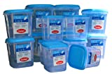 Chetan Soft Lock Airtight Kitchen Containers (14 Pc Set)