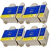 Ouguan® 8x (4 Noir + 4 Tri-colore) Kodak 10 10B 10C XL Cartouche d'encre Compatible pour Kodak ESP3 5 7 9 3250 5210 5250 7250 9250 Office 6150 EASYSHARE 5100 5300 5500 Hero 6.1 7.1 9.1