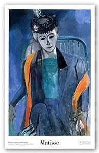 Portrait de la Femme de l'Artiste, 1913 de Henri Matisse Tirages d'Art Poster