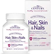 21st Century Extra Strength For Hair, Skin & Nails - 90 Tab