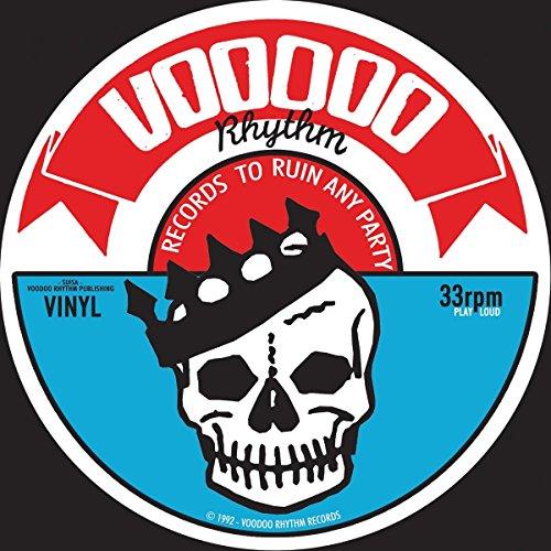 Vr Label Logo Skull Slip-Mat [Red,White,Black] Logo Slip