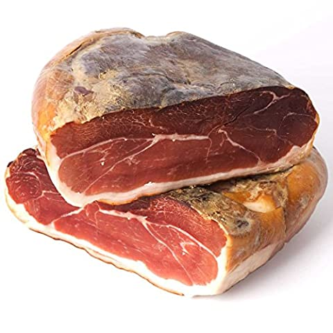 Spanish cured ham Semi fatty of Guijuelo boning. Minimum curing 12 months in Winery and weight of 5 to 5.1 kg Deboned artesanalmente manually, clean, polished and packaged to vacuum. Whole or divided in 4