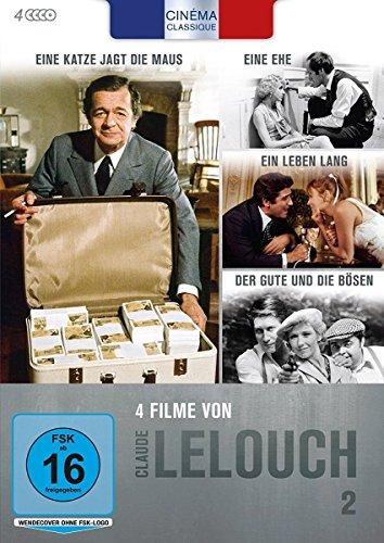 Bild von Cinéma Classique - Claude Lelouch - Box 2 [4 DVDs]