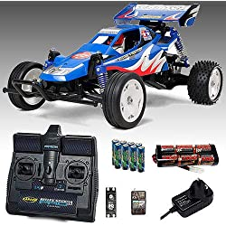 TAMIYA Rising Fighter Buggy RC Car Deal Bundle. Radio, Battery & Charger 58416