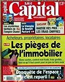 Telecharger Livres CAPITAL No 151 du 01 04 2004 LES PIEGES DE L IMMOBILIER LES MYSTERIEUX HERITIERS DE L EMPIRE CHANEL LE TRIOMPHE DE HEWLETT PACKARD HAUSSE DES PRIX LES PROJET FOUS DE L AMERIQUE ET DE L EUROPE CONQUETE DE L ESPACE (PDF,EPUB,MOBI) gratuits en Francaise