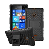 betterfon Microsoft Lumia 532 Schwarz Outdoor Hybrid Case