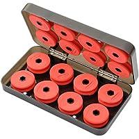 Línea principal de la pesca, caja de accesorios para herramienta de pesca de agua de mar, caja de bobina, línea de pesca, carretes de bobina, caja de almacenaje de plástico.