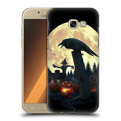 Karapanos Halloween Thema Horror 2 Ruckseite Hülle für Samsung Galaxy A5 (2017) (Alle Halloween-themen)