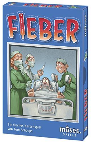 moses. - Fieber | Das freche Kartenspiel mit Ärger-Faktor (Spiel Arzt)