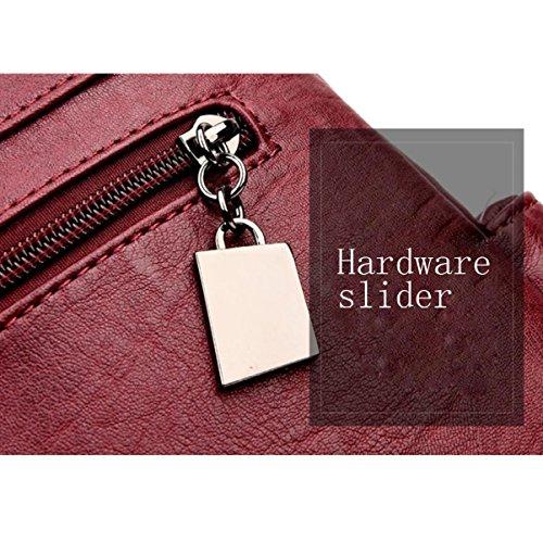 Schultertasche Rucksack Student Bag Handtasche Purple