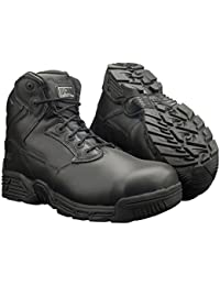 Hi Tec - Stealth Force 6.0 Leather Ct/cp Safety Boot S3 black Size: 13