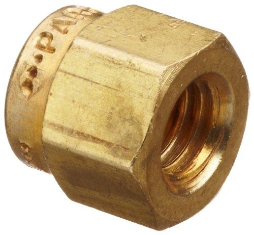 parker-a-lok-4nu4-b-brass-compression-tube-fitting-nut-1-4-tube-od-by-parker