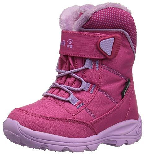 Kamik Unisex-Kinder STANCE Schneestiefel, Pink (Rose/Lavender), 26 EU