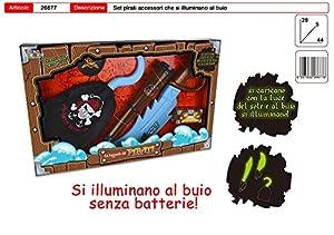 Toys Garden Srl Espada Piratas Fluorescentes C/Access 26677,, 851035