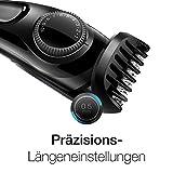Braun Bartschneider BT3020, Barttrimmer zur Bartpflege, Bartstyler ohne Folgekosten, schwarz -